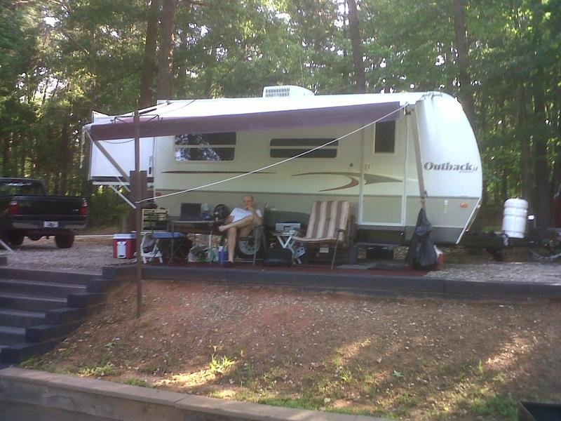 N4IQ's RV trailer station